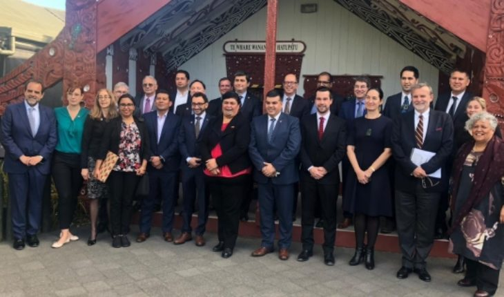 Maori people of New Zealand appoints Diego Ancalao as Ambassador of the indigenous world business forum