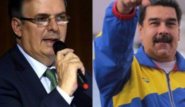 Marcelo Ebrard defiende visita de Nicolás Maduro a México