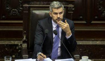 Marcos Peña presents a new report management