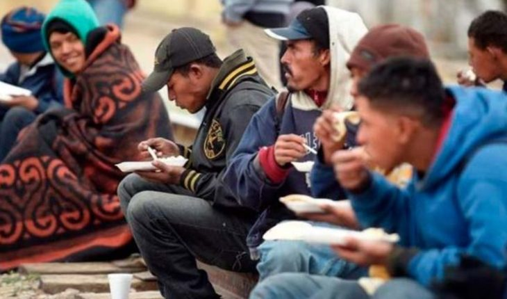 Migrantes y Policía Federal protagonizan riña en frontera