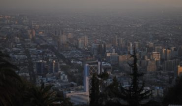 Mobile application allows you to monitor in real time the pollution in Santiago