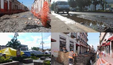 Morelia between potholes, decentralising and unfinished works