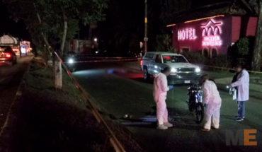 Motociclista muere al accidentarse sobre la Avenida Madero Poniente en Morelia, Michoacán