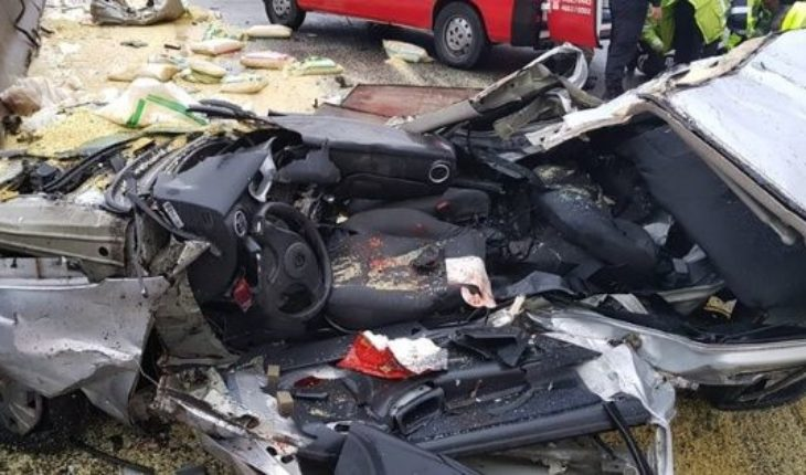 Multiple shock on the highway Buenos Aires - La Plata: several injured and delays