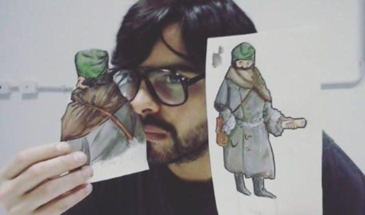 """Nico Ilustraciones, un artista en tiempos de redes: """"Todo lo que me sucede lo plasmo en el dibujo"""""""