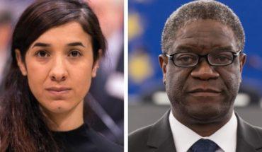 Nobel Peace Prize recognizes Nadia Murad and Denis Mukwege to combat sexual violence in wars