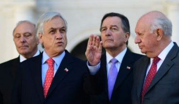 "Piñera discussed the failure of the Hague with lakes and Frei: ""defeat in dignity, magnanimity victory"""