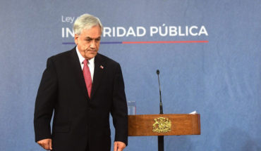 """Piñera: """"many in Chile have lost respect for police, their parents and teachers, and that we will restore"""""""