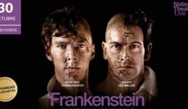 """Proyección de obra """"Frankenstein"""" con Benedict Cumberbatch en Teatro Nescafé de las Artes"""
