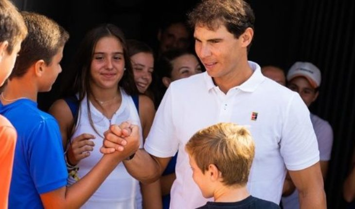 Rafa Nadal, distinguished citizen: the huge gesture following the floods in Mallorca sad