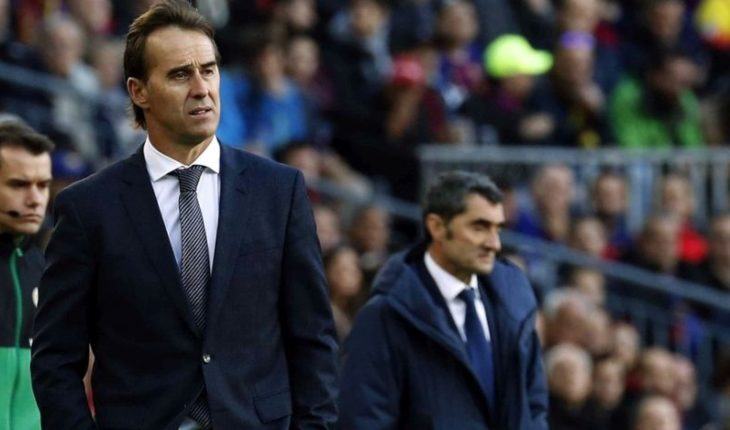 Real Madrid cesó en sus funciones al DT Julen Lopetegui