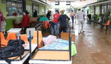 Realiza SEE, faenas de limpieza en escuelas afectadas por inundaciones en Morelia