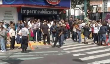Se registra sismo en CDMX; se sintió en Narvarte, Del Valle y Condesa