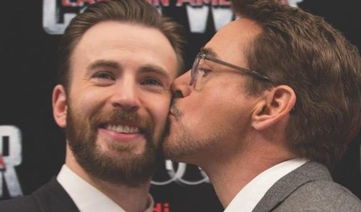 Robert Downey Jr was thrilled with a message to Chris Evan, following its strict decision