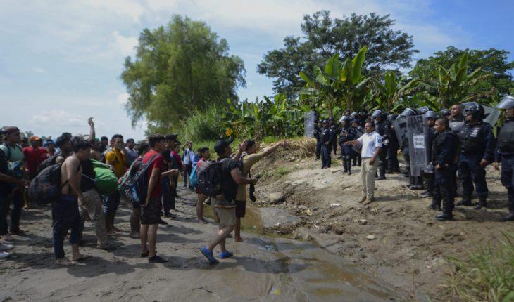 Segob afirma que hay delincuentes en la caravana; Guatemala, en alerta