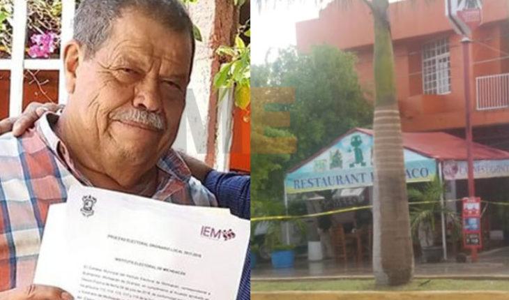 Sospechoso del homicidio del presidente electo de Buenavista es detenido