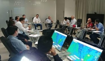 Stated in operating continuous session of Civil protection