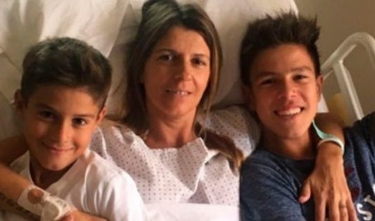 The campaign to Gaston De Césare lung against breast cancer following the death of his wife