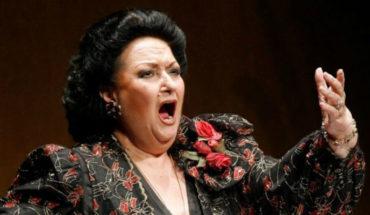 The soprano Montserrat Caballé die