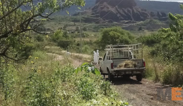 They are gunned down corpse and stolen truck near the highway Morelia-Cutò of hope