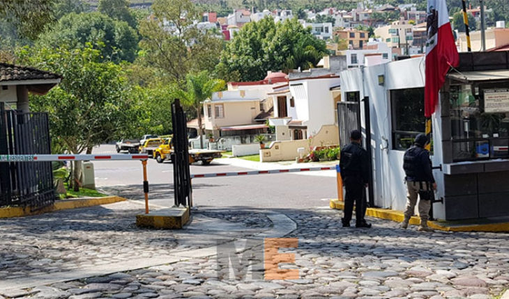 They perform search in Colonia Valle Verde in Morelia, Michoacán; ensure vehicles and detaining ten people