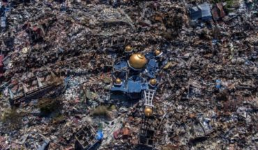 Tsunami in Indonesia: the aerial images that reveal the extent of the destruction after the disaster