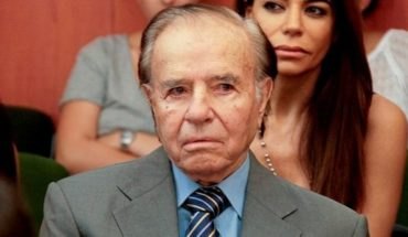 We confirmed the prison sentence for Carlos Menem