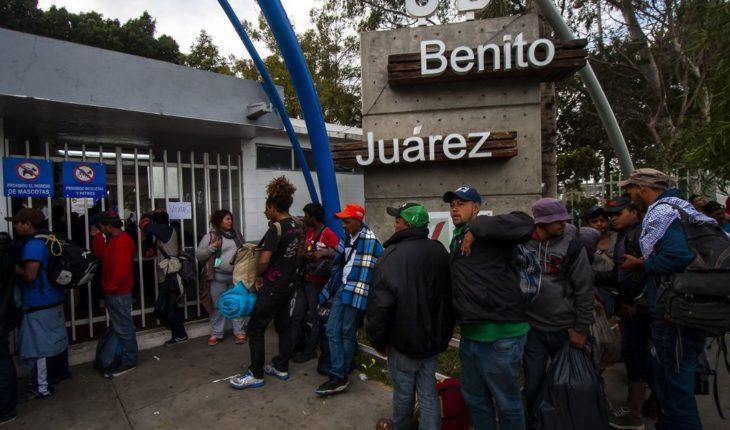 200 migrantes han solicitado retorno voluntario tras disturbios en El Chaparral
