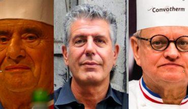 2018, de luto para la cocina: murieron tres de los chefs más importantes del mundo