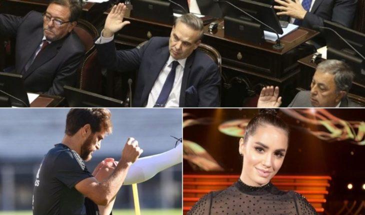 4 claves del presupuesto, otra baja en la Selección, nuevo tema de Lali Espósito y mucho más...