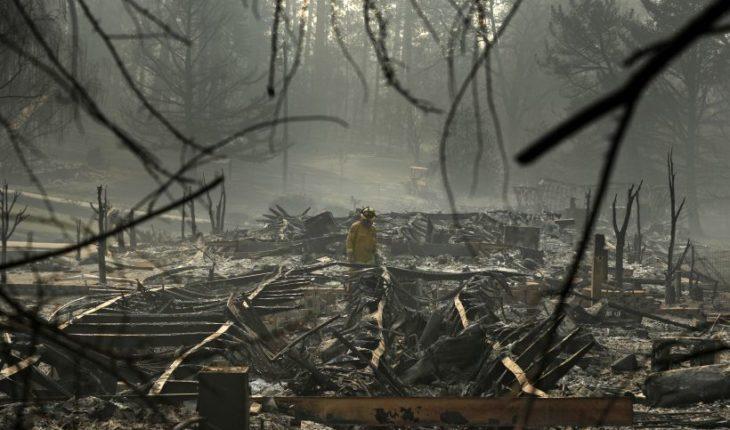 A 71 aumentan los fallecidos por incendios en el norte de California