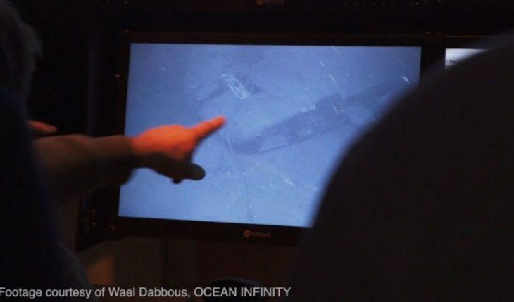 ARA San Juan: la jueza recibió las primeras imágenes del submarino hundido