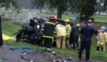 Accidente fatal en Lobos: cuatro hinchas de Boca murieron camino a la Bombonera