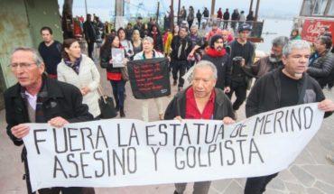 Armada se niega a retirar monumento de ex Comandante José Toribio Merino
