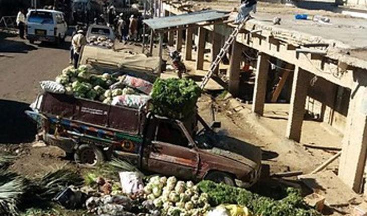 Atentado en mercado de Pakistán dejó al menos 35 muertos