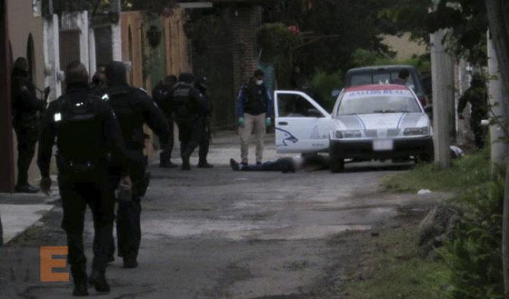 Balean y asesinan a chofer de taxi y a su pasajero en Zamora, Michoacán