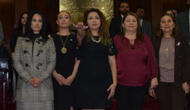 Beatriz Barrientos, primera mujer Secretaria de Servicios Parlamentarios en el país