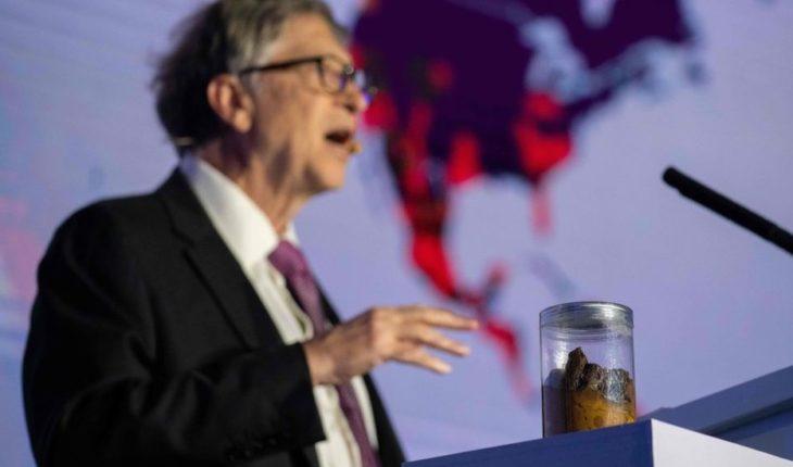 Bill Gates presenta un inodoro que no necesita agua