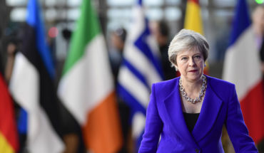 Theresa May durante el pasado Consejo Europeo en Bruselas (18/10/2018). Foto: ©European Union. Blog Elcano