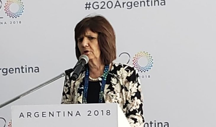 "Bullrich, el G20 y Boca - River: ""Me parece que no da para mezclar"""