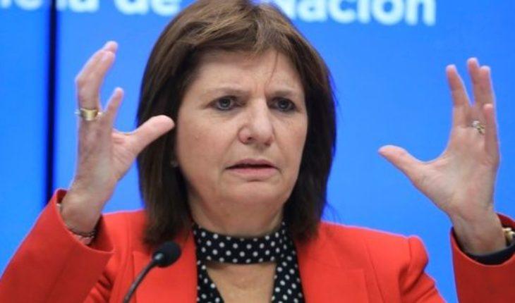 """Bullrich insiste: """"Imagínenseque si vamos a tener un G20, no vamos a poder dominar un River-Boca"""""""