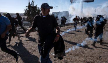 Cancillería pide a EU investigar uso de armas en frontera