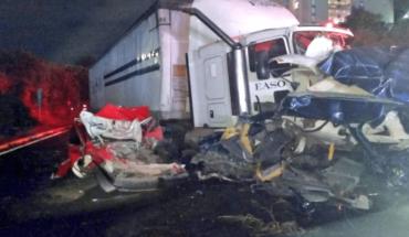 Capturan a conductora de tráiler que chocó en la México-Toluca