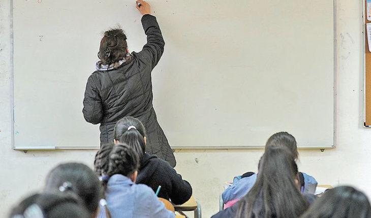 Carrera Docente: 82% de los profesores dijo que aumentó su su sueldo y 60% que se lleva menos trabajo a casa