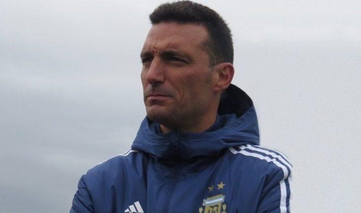 """Chiqui"" Tapia confirmó a Scaloni como técnico de Argentina para la Copa América"