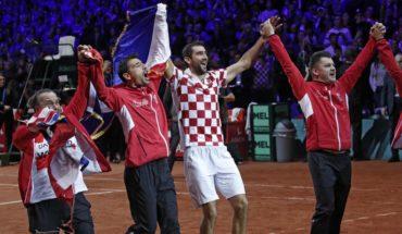 Croacia venció a Francia y conquistó su segunda Copa Davis
