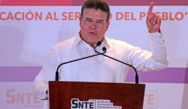 Díaz de la Torre solicita licencia para dejar el SNTE
