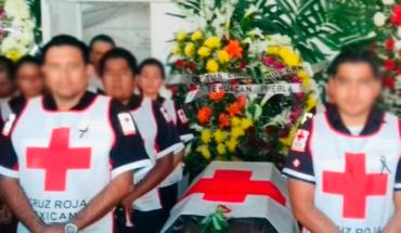 Dan el último adiós al paramédico asesinado el domingo en Taxco, Guerrero