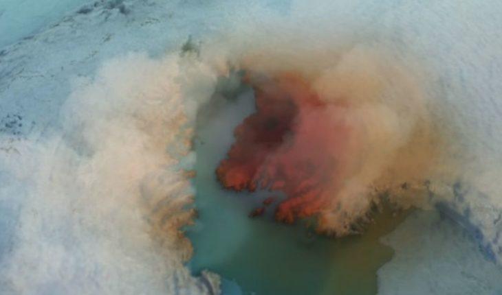 Descubren un cráter gigantesco bajo el hielo de Groenlandia