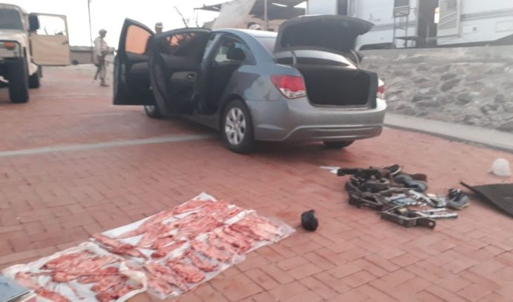 Detienen a hombre en posesión de buches de Totoaba en Mexicali